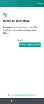 Motorola One Vision - Primeiros passos - Como ativar seu aparelho - Etapa 7
