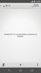 Sony D5503 Xperia Z1 Compact - Wifi - handmatig instellen - Stap 4
