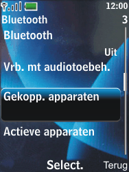 Nokia 6600 slide - Bluetooth - Headset, carkit verbinding - Stap 6