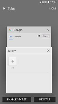 Samsung Galaxy J7 (2016) (J710) - Internet - Internet browsing - Step 14