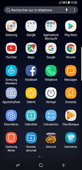 Samsung Galaxy S8+ - Photos, vidéos, musique - Créer une vidéo - Étape 3