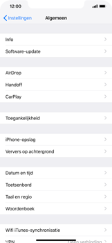 Apple iPhone XS Max - Toestel - Software update - Stap 5