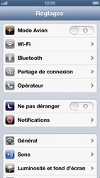 Apple iPhone 5 - Appareil - Mises à jour - Étape 4