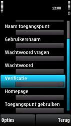 Nokia X6-00 - MMS - handmatig instellen - Stap 17