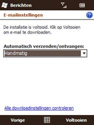 HTC T3333 Touch II - E-mail - Handmatig instellen - Stap 14