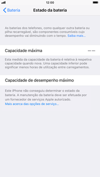 Apple iPhone 7 Plus iOS 11 - Bateria - Desactivar a gestão de desempenho -  9