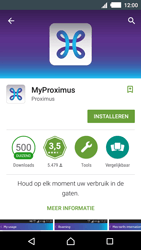 Sony E2303 Xperia M4 Aqua - Applicaties - MyProximus - Stap 8