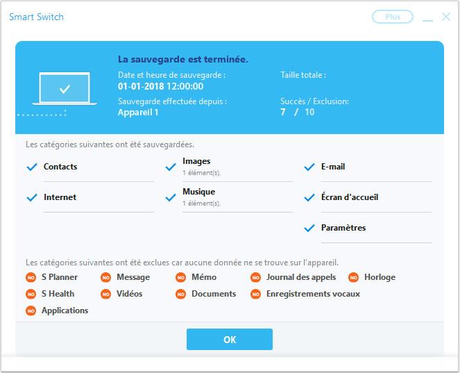 Samsung Galaxy A6 - Aller plus loin - Gérer vos données avec un ordinateur - Étape 13
