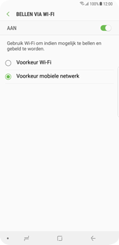 Samsung Galaxy S9 Plus - Bellen - bellen via wifi (VoWifi) - Stap 8