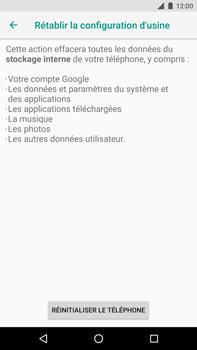 Huawei Nexus 6P - Android Oreo - Appareil - Réinitialisation de la configuration d