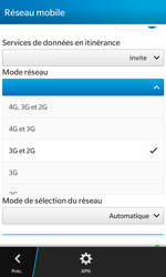 BlackBerry Z10 - Internet et connexion - Activer la 4G - Étape 7