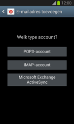 Samsung S7390 Galaxy Trend Lite - E-mail - e-mail instellen: IMAP (aanbevolen) - Stap 7