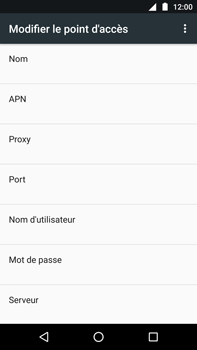 Motorola Moto Z Play - Internet - Configuration manuelle - Étape 10