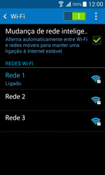 Samsung Galaxy Core II - Wi-Fi - Como ligar a uma rede Wi-Fi -  8