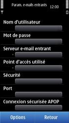 Nokia C7-00 - E-mail - Configurer l