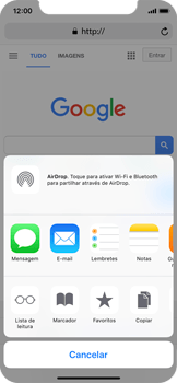Apple iPhone X - Dados - Utilizar o web browser -  6