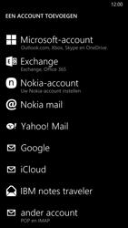 Nokia Lumia 930 4G (Type RM-1045) - E-mail - Handmatig instellen - Stap 7
