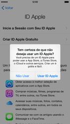 Apple iPhone iOS 8 - Primeiros passos - Como ativar seu aparelho - Etapa 16