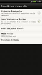 HTC S720e One X - Réseau - utilisation à l'étranger - Étape 8