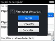 BlackBerry 9620 - Internet (APN) - Como configurar a internet do seu aparelho (APN Nextel) - Etapa 18