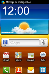 Samsung S7500 Galaxy Ace Plus - Internet - Configuration automatique - Étape 3