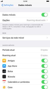 Apple iPhone 6s Plus - iOS 11 - Internet no telemóvel - Como ativar os dados móveis -  5