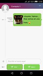 Huawei Y5 II - Mensajería - Escribir y enviar un mensaje multimedia - Paso 20