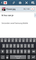 Samsung G3500 Galaxy Core Plus - E-mail - hoe te versturen - Stap 19