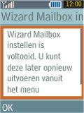 Samsung B2100 Xplorer - E-mail - Handmatig instellen - Stap 17