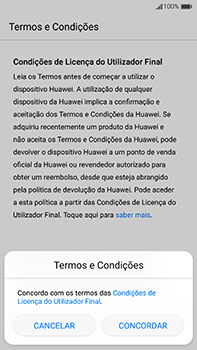 Huawei Mate 9 - Primeiros passos - Como ligar o telemóvel pela primeira vez -  6