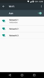 Alcatel A3 - wifi - handmatig instellen - stap 8