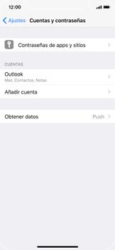 Apple iPhone X - E-mail - Configurar Outlook.com - Paso 10