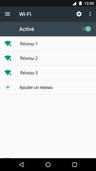 Motorola Moto Z Play - Wi-Fi - Se connecter à un réseau Wi-Fi - Étape 6