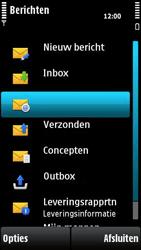 Nokia X6-00 - E-mail - e-mail versturen - Stap 3