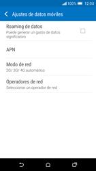 HTC One M9 - Red - Seleccionar el tipo de red - Paso 5