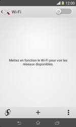 Sony D2005 Xperia E1 - Wifi - configuration manuelle - Étape 4