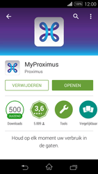 Sony D2203 Xperia E3 - Applicaties - MyProximus - Stap 10