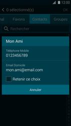 Samsung Galaxy S5 - Contact, Appels, SMS/MMS - Envoyer un SMS - Étape 7
