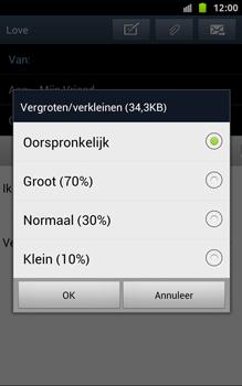 Samsung N7000 Galaxy Note - OS 4 ICS - E-mail - hoe te versturen - Stap 15