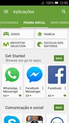 Alcatel Pixi 3 - Aplicações - Como pesquisar e instalar aplicações -  5