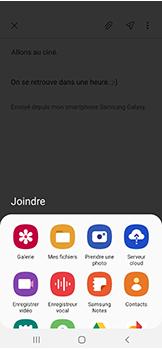 Samsung Galaxy A40 - E-mail - envoyer un e-mail - Étape 12