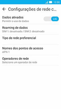 Asus Zenfone Go - Internet (APN) - Como configurar a internet do seu aparelho (APN Nextel) - Etapa 6