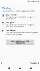 Sony Xperia X Compact - Android Oreo - E-mail - e-mail instellen: IMAP (aanbevolen) - Stap 20