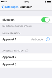 Apple iPhone 4S iOS 9 - Bluetooth - headset, carkit verbinding - Stap 6