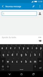 HTC Desire 816 - Contact, Appels, SMS/MMS - Envoyer un MMS - Étape 6