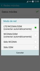 Samsung Galaxy A3 - Red - Seleccionar el tipo de red - Paso 7