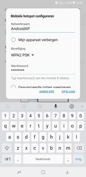Samsung Galaxy A7 (2018) - Internet - mijn data verbinding delen - Stap 10