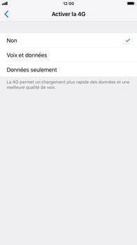 Apple iPhone 6 Plus - iOS 12 - Réseau - Changer mode réseau - Étape 7