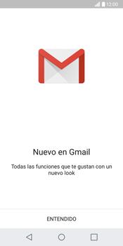 LG G6 - E-mail - Configurar Gmail - Paso 4