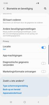 Samsung Galaxy S10 Plus - Beveiliging - pas de pincode voor je simkaart aan - Stap 5